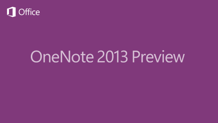 OneNote 2013 Splash Screen