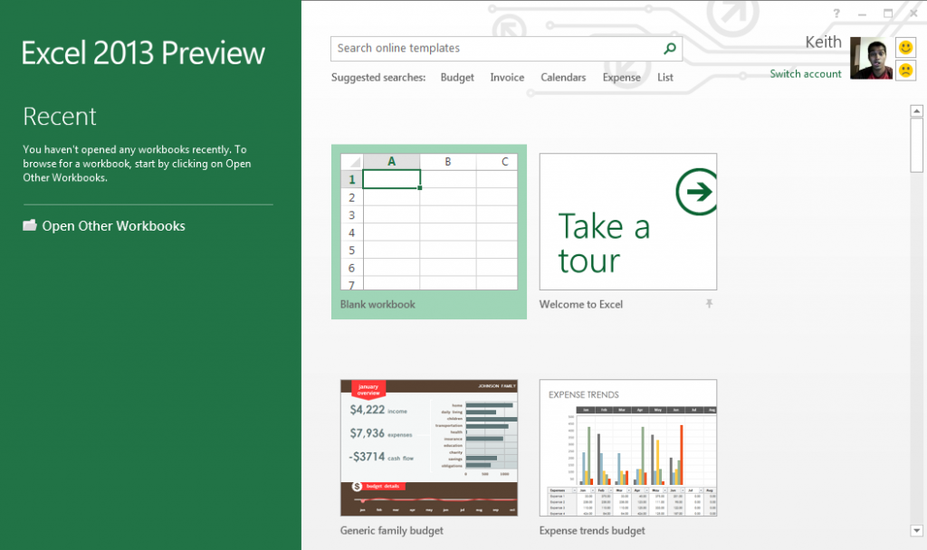 Excel 2013 Home